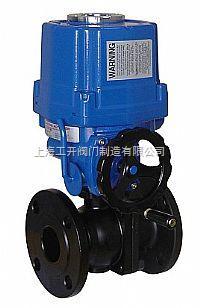 铸钢电动球阀Q941F-10C