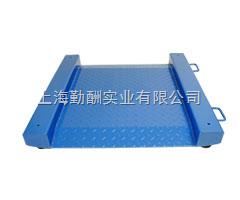 上海单层0.8*0.8不锈钢超低电子地磅