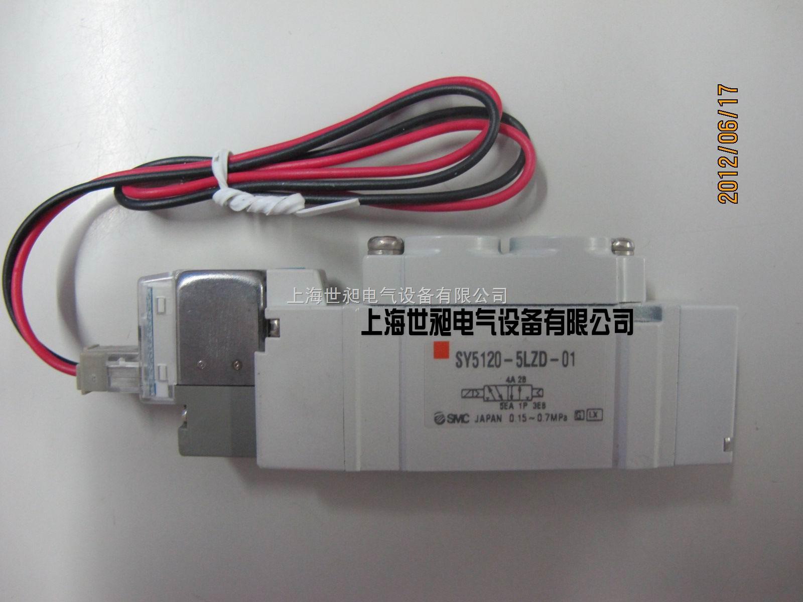 smc电磁阀 sy5120-5lzd-01图片