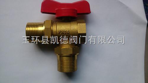 黄铜三通暖气调节阀.黄铜三通暖气阀图片