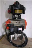 ZXDA-AT50/63防爆气动球阀 防爆气动O型切断阀CF8/CF3M