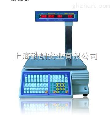 农贸市场计价条码秤,TM-30公斤称食品条码秤