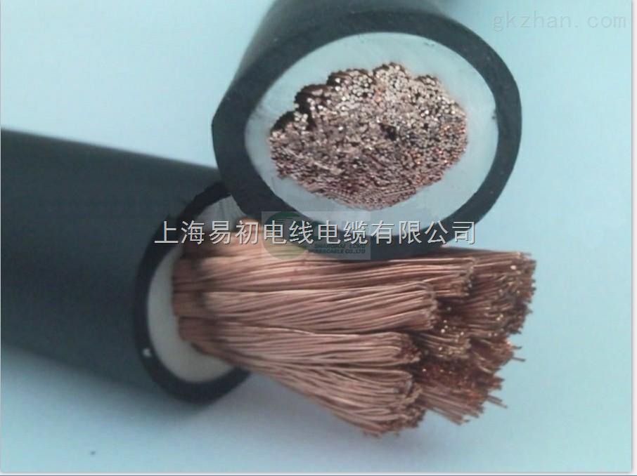 焊接电缆 执行标准:JB6213 92 Q/12YJ 4135-2000 适用范围: 适用于交流额定电压6000V及以下的电机绕组的引出连接用。 使用特性: 电线导体的长期允许工作温度应不超过70。具有良好的柔软性及耐热、耐溶剂性。 规格 根数 单根导体直径φ 导体截面 导体折数 产品近似直径mm 近似密度公斤/KM 标称外径/下限 外径上限 (JBQ)500V 16 126 0.