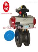 上海气动球阀型号|气动薄型球阀供应|气动薄型球阀