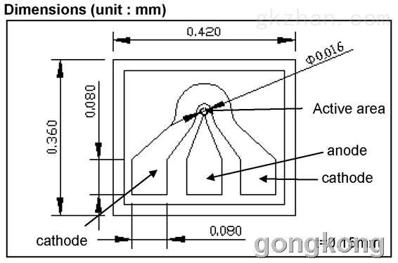 ingaas光电二极管-kpdeh16c系列