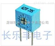 单圈精密电位器3362S-1-504