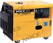 NK-5500DGS-上海直销5kw静音全封闭柴油发电机组NK-5500DGS