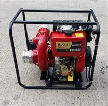 电启动4寸柴油污水泵