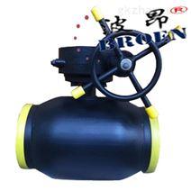 齿轮传动全焊接球阀BAQ361PPL