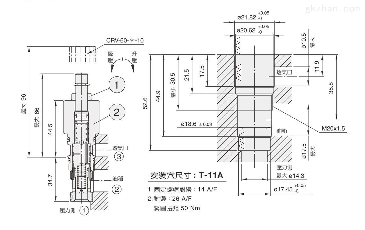 七洋插式溢crv/crve插式溢流阀现货销售液压阀图片