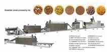 济南霖奥供应膨化食品设备早餐粥玉米片加工设备