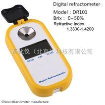 西化仪ZXJ供DR101数显糖度计折光仪 型号:DR101库号:M405725
