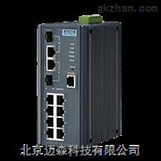 EKI-7710G-2C研华网管型2光8电百兆工业交换机