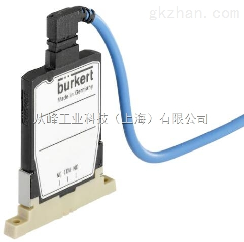 burkert6650型PEEK分析电磁阀底板连接
