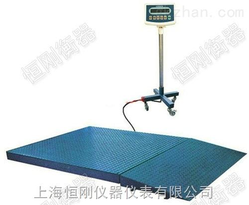 5T电子地磅秤可接PLC控制器
