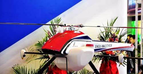天鹰全智能电动植保无人机TY-800引关注