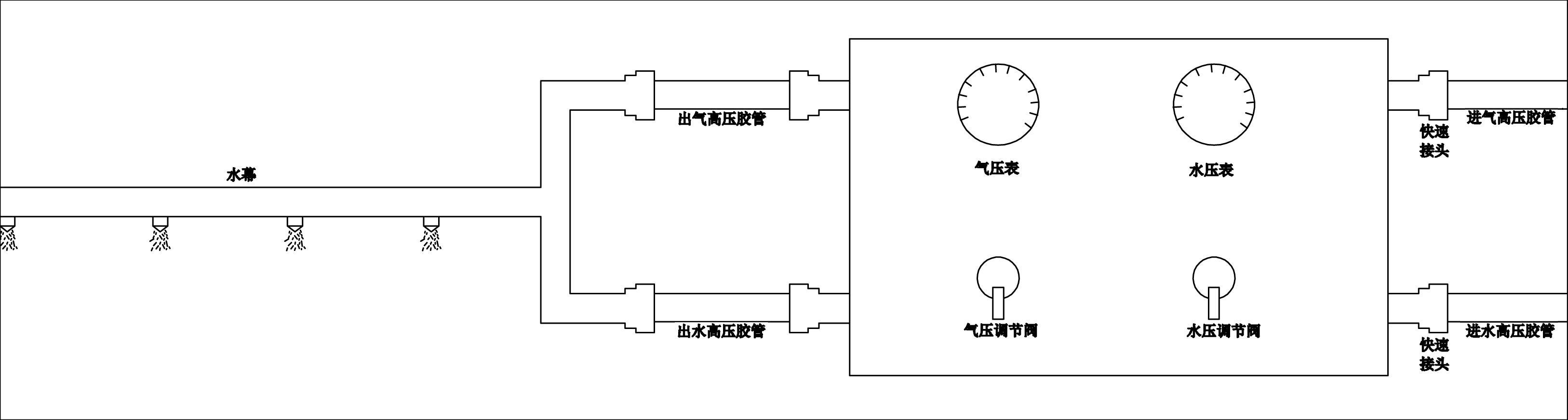 机械式转向系结构示意图