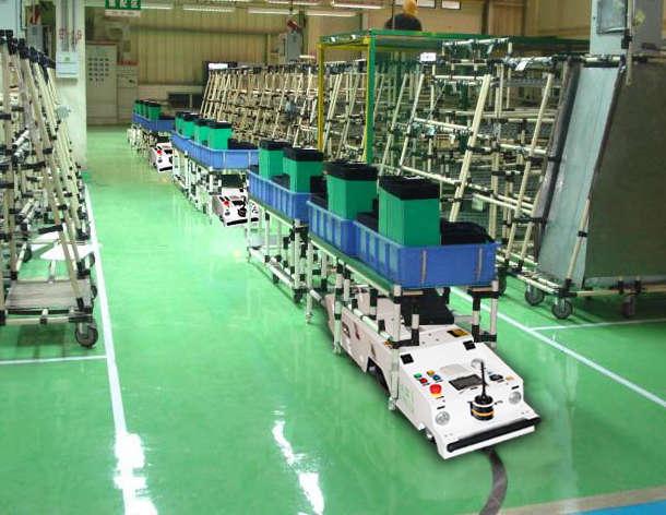 agv小车控制系统-超小型潜伏式agv小车