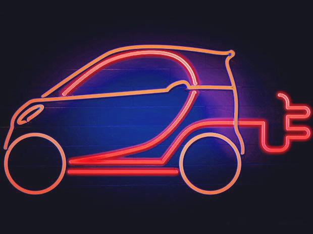 电动车电池电量不足