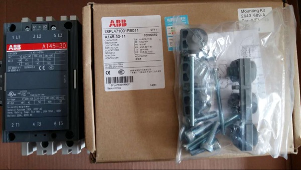 abb交流接触器a50-30-11线圈电压110v220v380v