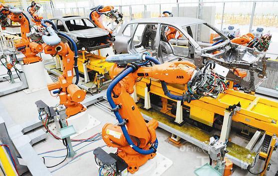 焊接机器人 - 智能制造顾问群 - 智能制造解决方案顾问群