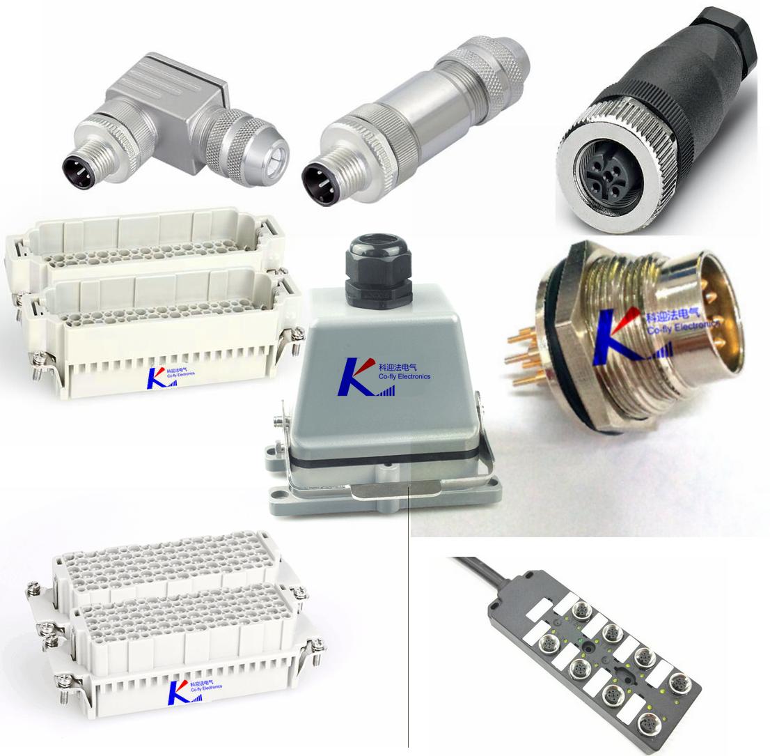 M12、M8双头电缆连接器 T形、Y形一分二转换器 M23连接器(7/8'连接器) M16连接器(5/8'连接器) M5连接器(1/4'连接器)