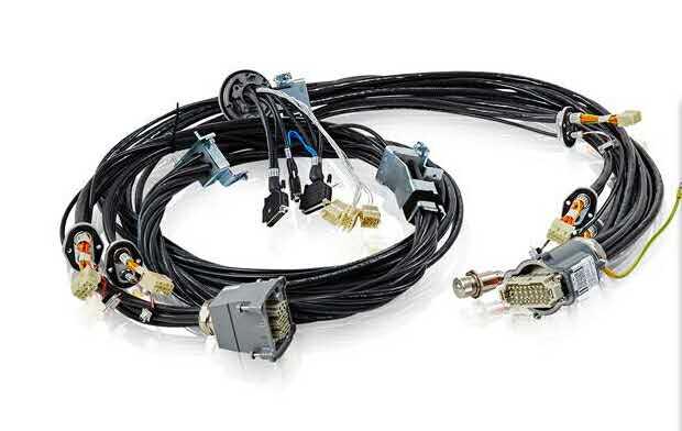 重载连接器电缆组件110KV变电站线束连接总成与线束加工