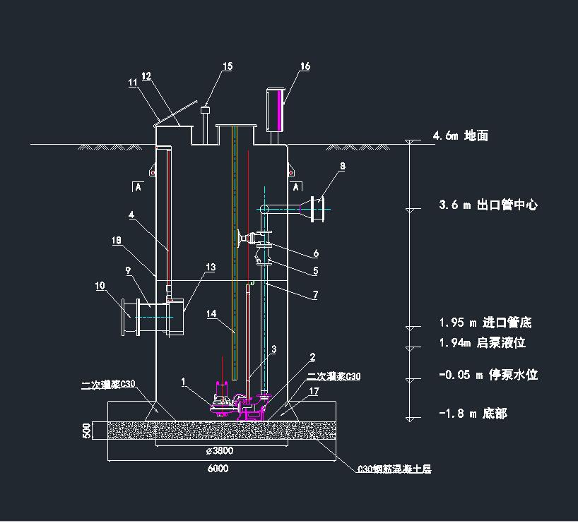 智能温控水泵电路图
